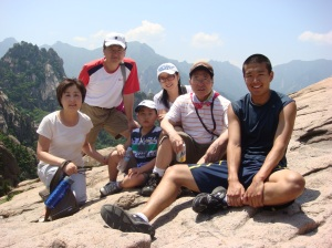 Me with some of my family at Mt. Seorak in 2011.