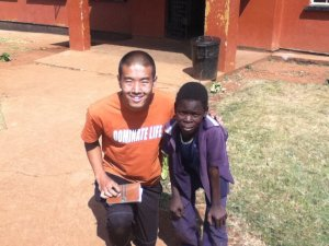 """My Zambian friend, Nixon, inspired me through his zeal for knowledge and discipline. Learn more about his story in the """"Academics"""" chapter of """"Four Years, Two Roads."""""""