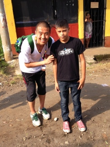 Meet my sponsored child, Derix. He is 12, loves soccer, and wants to be a mechanic one day.