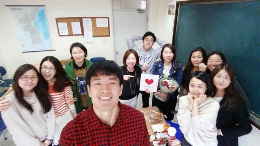 Second semester Korean class!