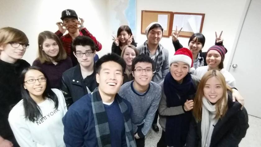 My first semester Korean class!